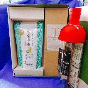 画像1: 雪室冷茶・フィルターインボトル【夏のセット】